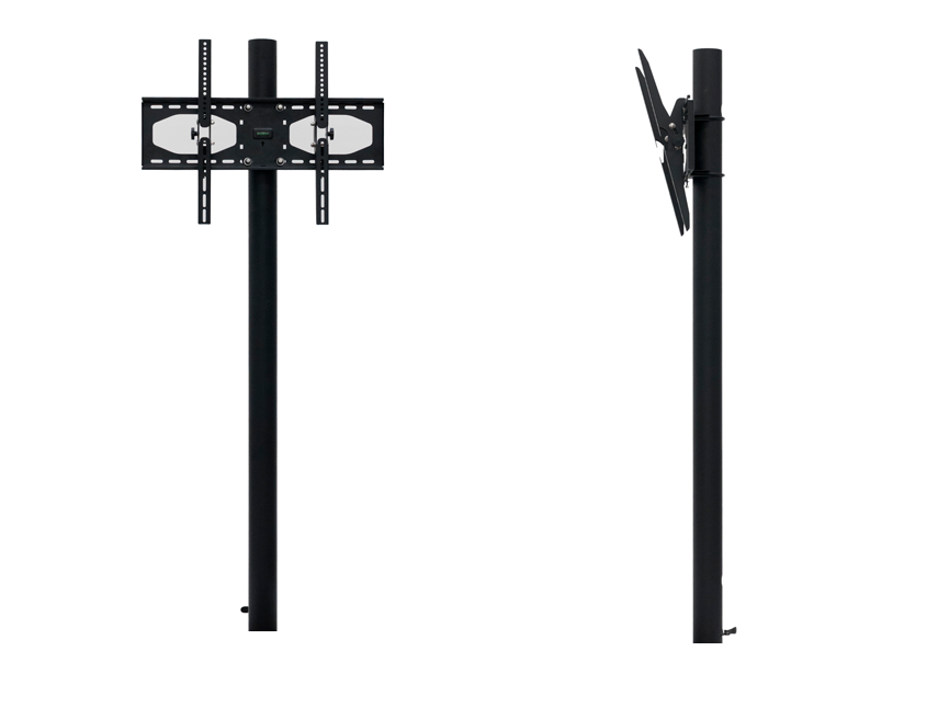 "46"" In-Ground Post with Swivel/Tilt Mount"