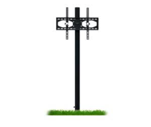 outdoor tv accessories in-ground post