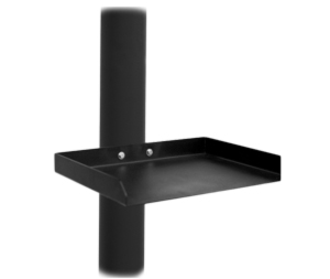 outdoor tv accessories cart shelf