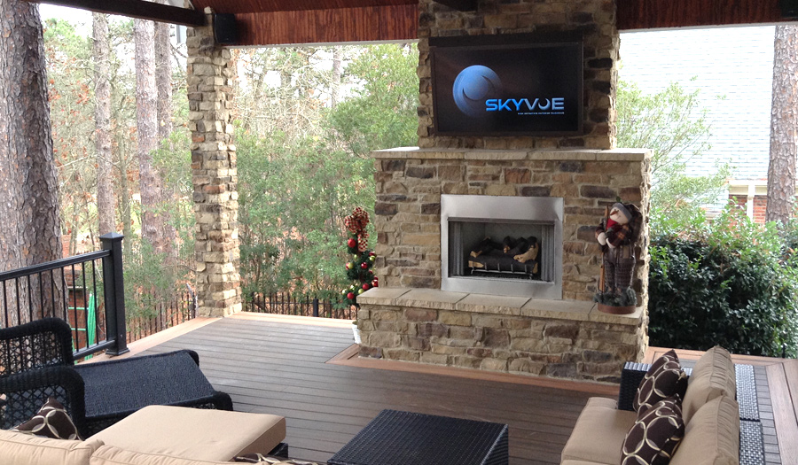 SkyVue's NXG-5550 Makes This Porch Pop