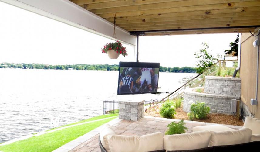 Skyvue Outdoor Tv Photo Gallery, Outdoor Tv Mounts Ceiling