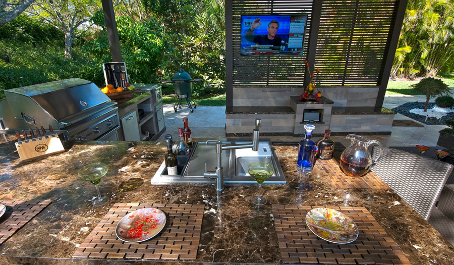 Patio Tv Ideas Outdoor And Speakers By Steve Hunter