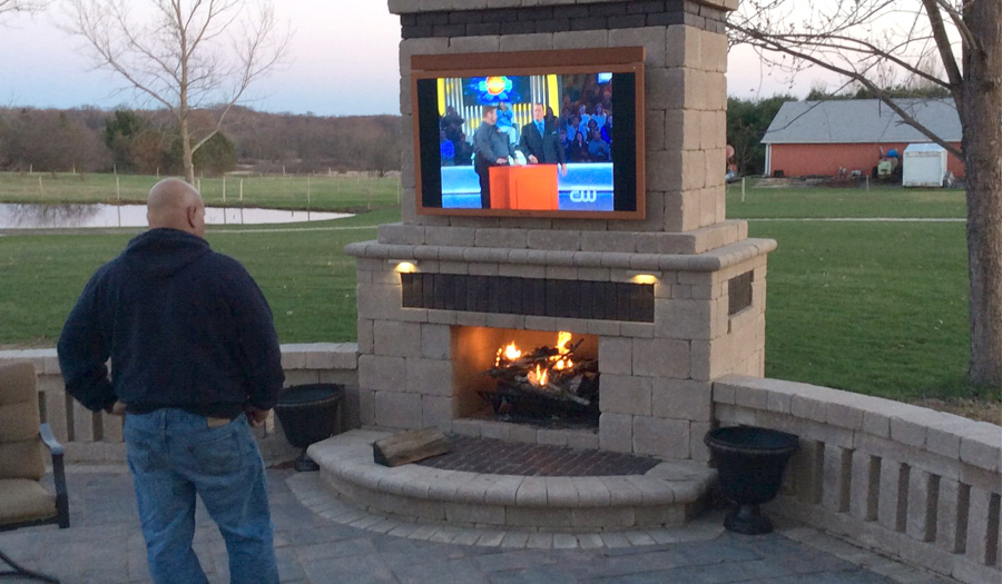 Outdoor TV Pictures SkyVue Gallery