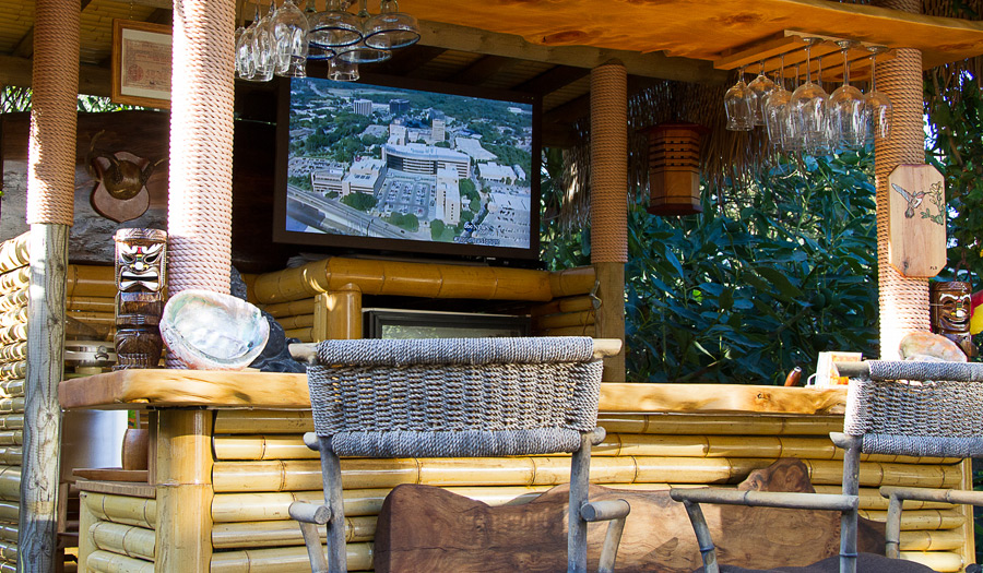 Relax At The Tiki Bar With SkyVue