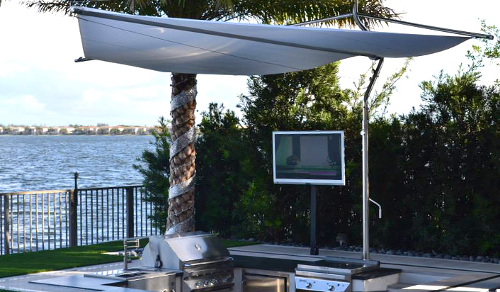 Grilling Waterfront And Watching The SkyVue