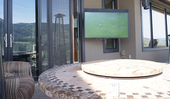Perfect Spot For Outdoor Entertainment